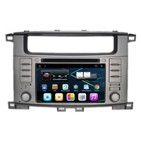 7 Android Car Multimedia Stereo DVD GPS Navigation for Toyota Land Cruiser 100 1999 2000 2001 2002 2003 2004 2005 2006 2007