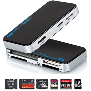 Image 3 - Baolyda Micro USB Card Reader 3.0 SD/TF Cardreader USB 3.0 All in One SD/Micro SD/TF/CF/MS Compact Flash Smart USB Card Adapter