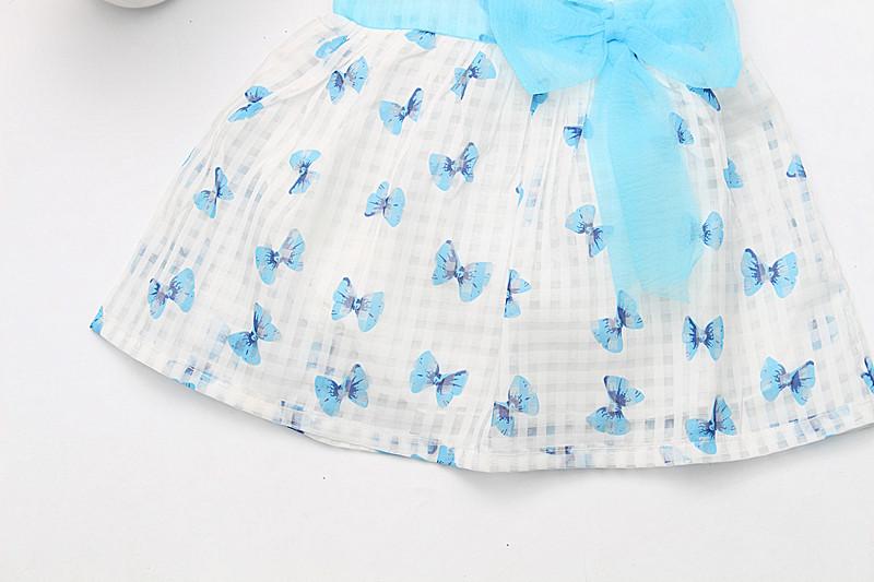 2016 Super Deal Summer Cotton Baby Dress Princess Dress Puff Sleeveless Cute Fashionable Baby Infant Dress 0-2 Years 11