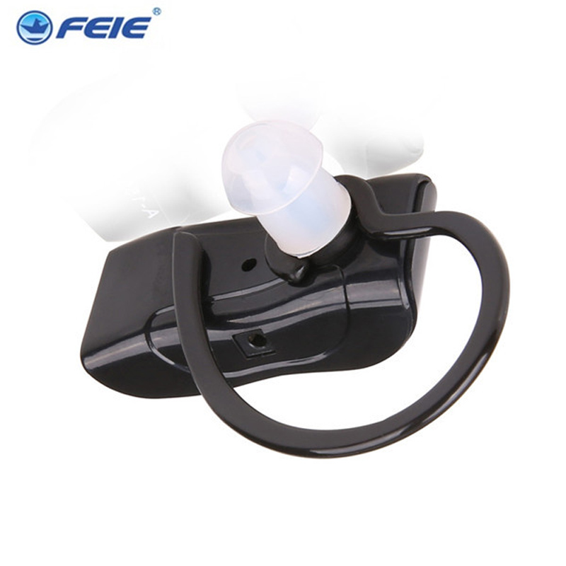 2 PCS Hearing Aid BTE Rechargeable Hearing Device Clear Voice Powerful Double Pieces S-217 Free Drop Shipping devices for hearing mini digital hearing aid voice recorder minds aparelho auditivo 6 canais s 16a free shipping