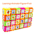 68pcs/set Kids Baby Learning 3D Geometry Educational Puzzle Educational Montessori Toys For Children