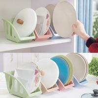 Creative   kitchen   5 card slot dishes   storage   rack finishing basket classified drain tableware   storage   boxes   kitchen   accessories