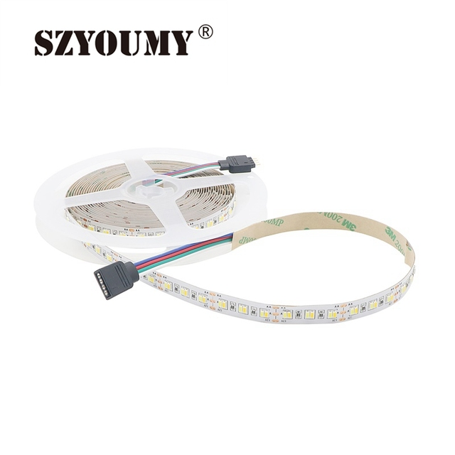 Szyoumy led strip light 3014 smd 5m 216ledsm non waterproof szyoumy led strip light 3014 smd 5m 216ledsm non waterproof double white temperature dimmable mozeypictures Image collections
