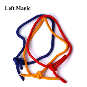 Magic Tricks Three-Strings Illusions Gimmick-Accessories Close-Up Street Yellow Rope