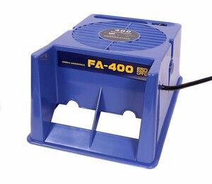 Image 5 - Absorbeur de fumée en fer à souder 220V/110V, extracteur de fumée ESD, Instrument de fumée avec 10 éponges de filtre à charbon actif gratuites