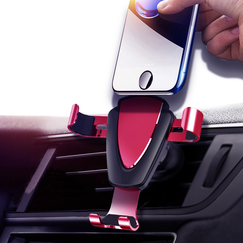 Car Air Vent Metal Holder Portable Universal Phone Stand Holder For Samsung S8 S9 Note 8 9 For Xiaomi/Redmi/Huawei S10 Holders