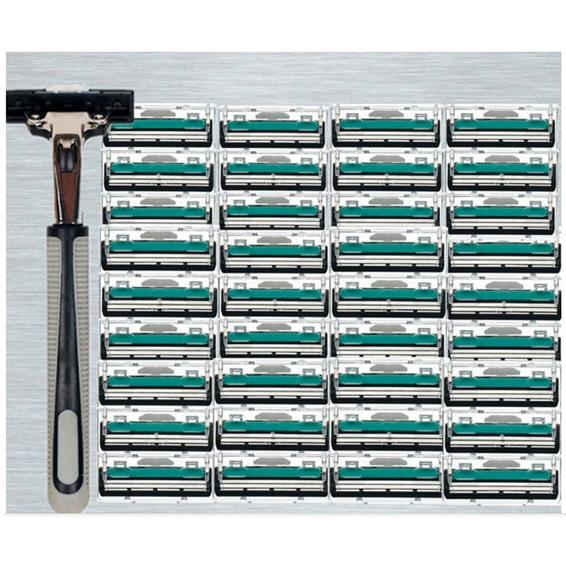 30pcs Razor Blades+1pcs Razor Holder turbo Face Care s
