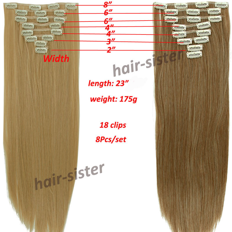Premium quality local warehouse full head clip in hair extensions premium quality local warehouse full head clip in hair extensions 8 piece set long 1724 diy salon finest 18clips ins on aliexpress alibaba group pmusecretfo Image collections
