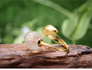 Natural Crystal Handmade Fine Flower Ring26