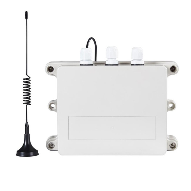 Waterproof Data Logger Wireless Data Acquisition & Record System 4 Analog inputs Breeding factory Monitoring S263