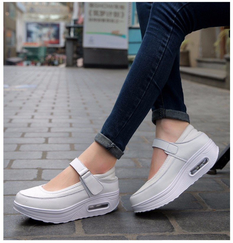 Mary Janes Style Women Casual Shoes Fashion Low Top Platform Shoes zapatillas deportivas mujer Breathable Women Trainers YD129 (16)