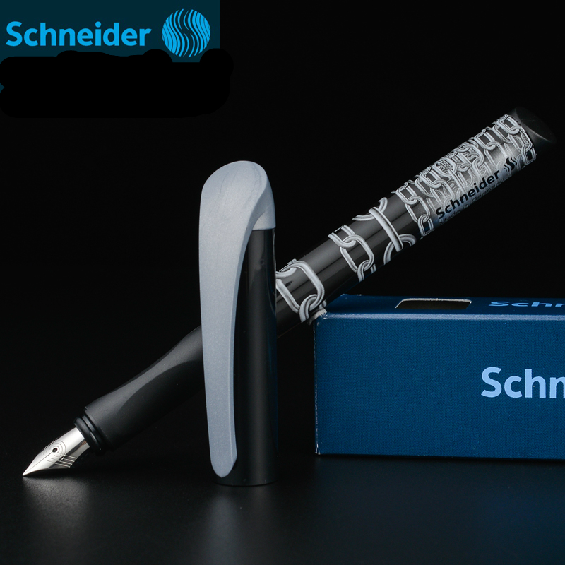 Hot selling Schneider EASY students writing fountain pen calligraphy straight tip ink pen resin pluma fuente 0.5mm free shipping