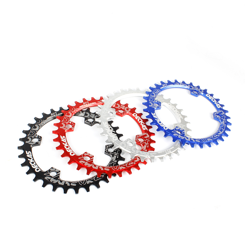 Deckas Round 96BCD Chainring MTB Mountain BCD 96 bike bicycle 32T 34T 36T 38T crankset Tooth plate Parts for M8000 M9000