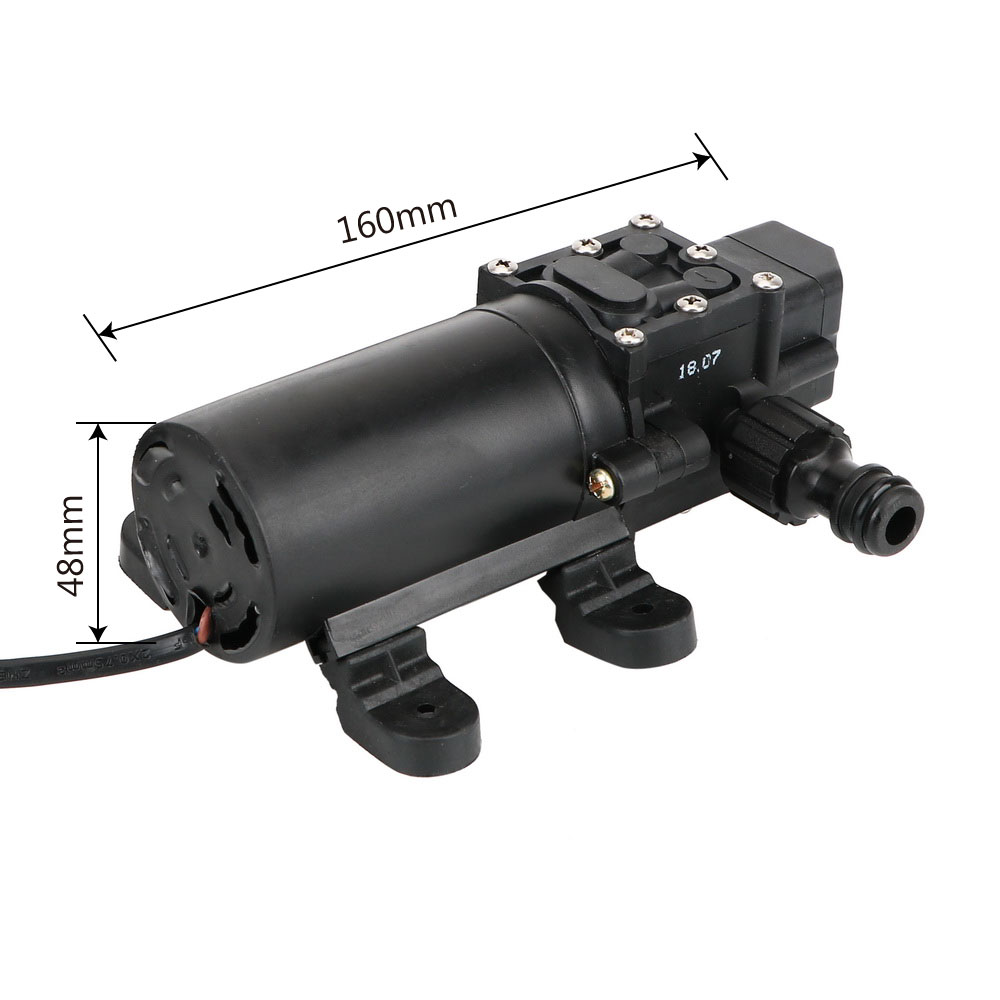 Pompe à eau Portable allume-cigare haute pression 12 V pistolet de pulvérisation voiture nettoyant auto aspiration lave-auto électrique - 5