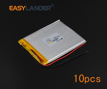 10pcs/Lot 3.7V 2800mAh Polymer Li-ion Battery For tablet PC iPAQ E-Book PDA Portable DVD Consumer electronics safety lamp 477285