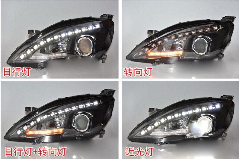 Stock!308S,HID,2014~2016,Car Styling for Peugeo 408 Headlight,insight,206 207 308 3008 4008 508 Raid RCZ,Partner,408 head lamp