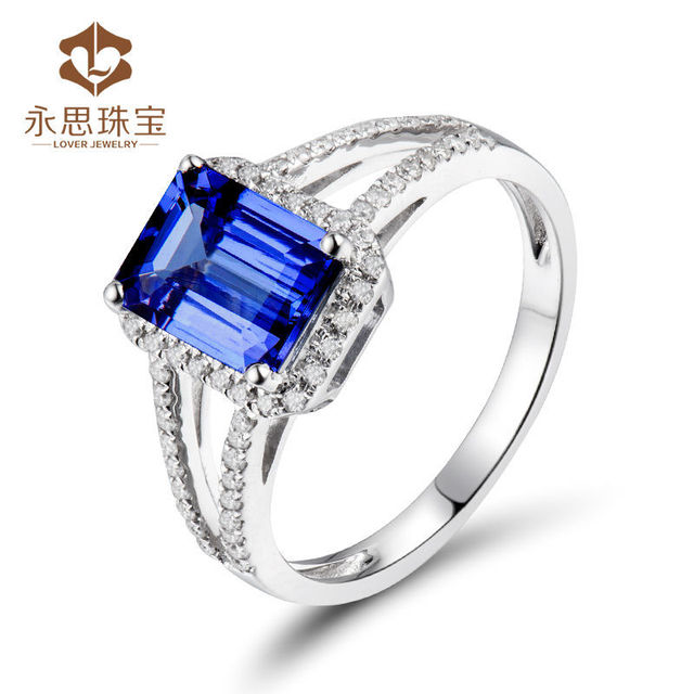 solid view wedding for loverjewelry tanzanite sale emerald men white product in mens ring cut gold