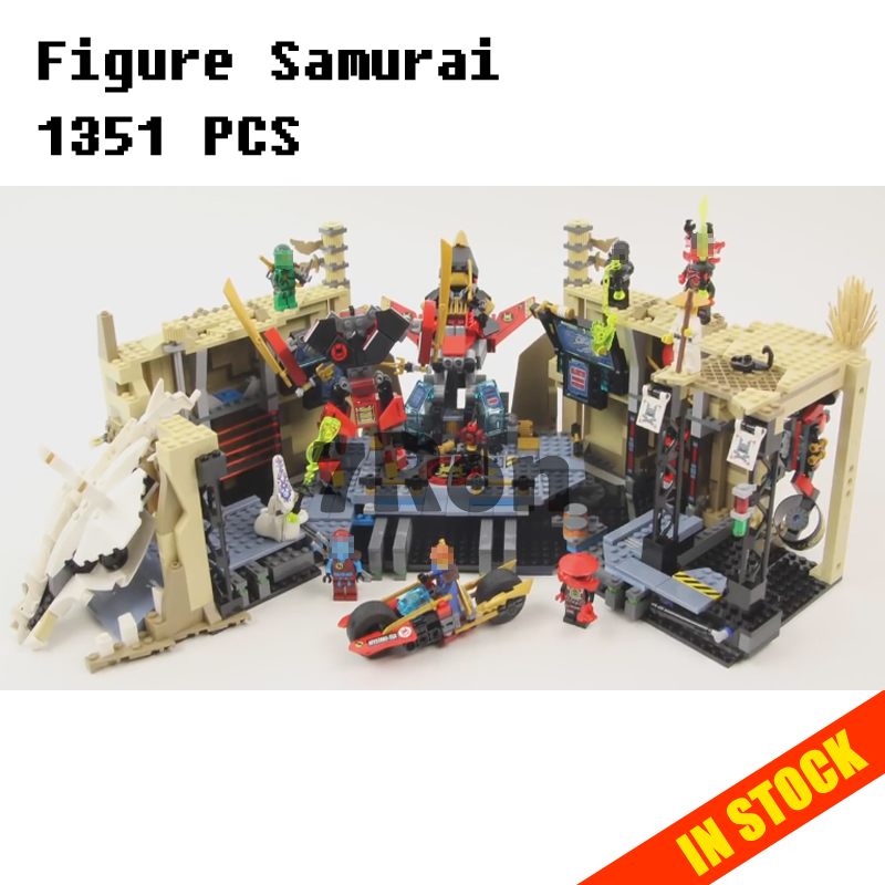 Compatible with lego 70596 Models building toy 06039 1351pcs Ninjago Figure Samurai X Cave Chaos Building Blocks toys & hobbies бита bosch 2607001674 1шт 152мм torх t30 хh
