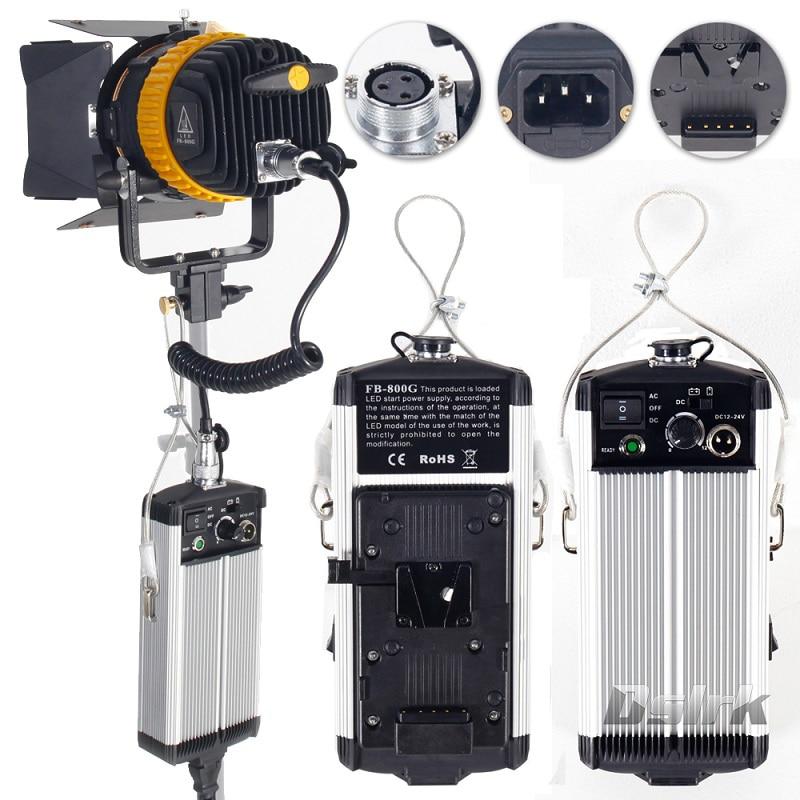 Portable High CRI 80W LED Spotlight for Camera Video Continuous Light Bi-color 3200K/5600K Dimmable Spot Light for Fotografia new bi color 4ft 4 bank led kinoflo 3200k 5600k dimmable daylight with ballast for film lighting high cri for broadcasting