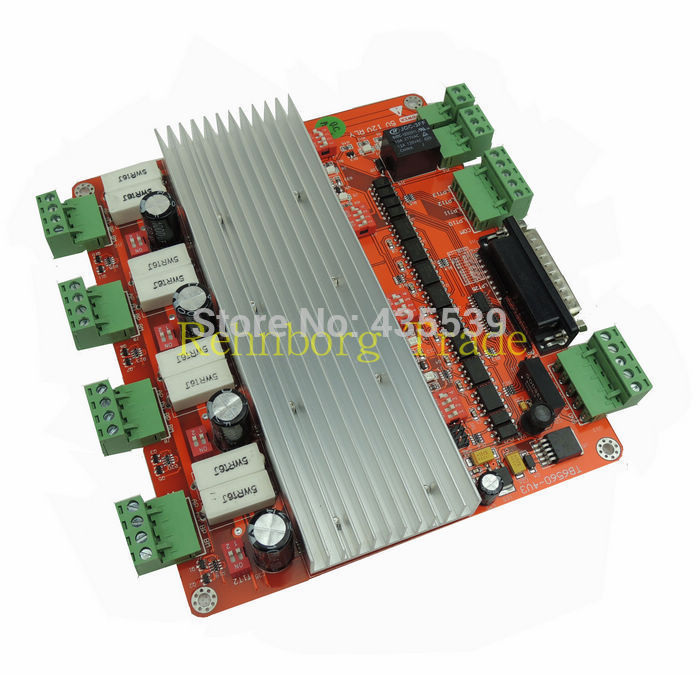 Free shipping factory outlets cnc mach3 4 axis controller for Stepper motor controller software freeware