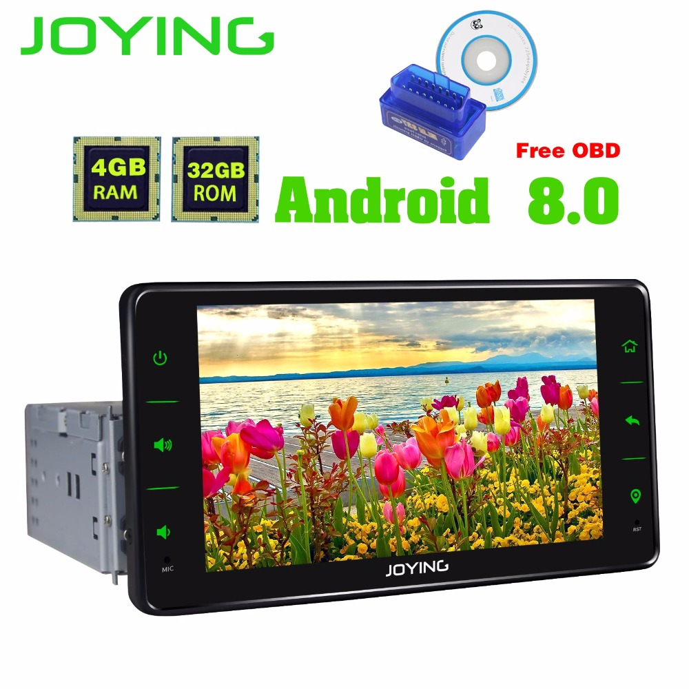 joying 1 din 6 2 39 39 android 8 0 octa core 4gb 32gb car. Black Bedroom Furniture Sets. Home Design Ideas