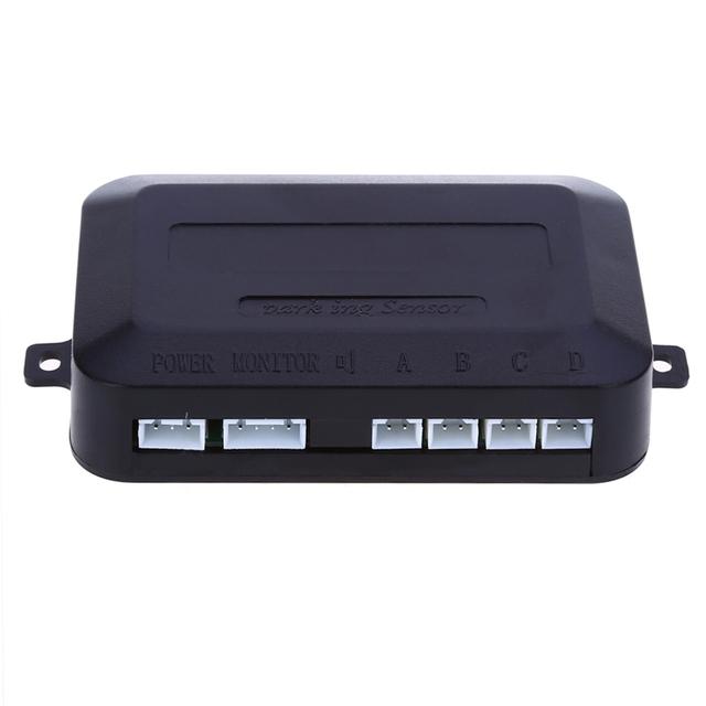 2016 TOPS 4 car Parking sensor Car Parking Auto Reverse Rear Assistance Backup Park Radar Buzzer Alarm Monitor System Parktronic