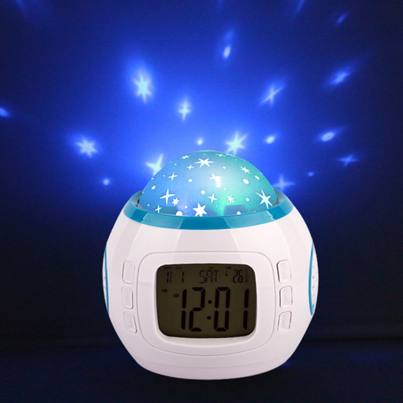 2019 New arrival table Night light with star projection Lamp for indoor Lighting and bedroom decor Creative gift for child