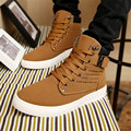 Size 38-46 men's casual frosted face boots 2017 new paragraph four seasons paragraph flat Martin boots retro fashion men's shoes