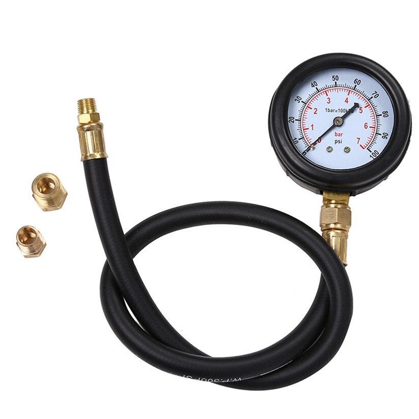 Car-styling CARPRIE Oil Pressure Gauges Car Motor Multi-Function Gas Engine Compression Cylinder Pressure Tester td1221 dropship