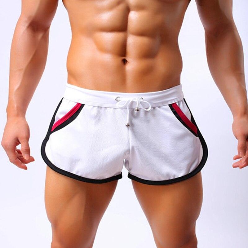 New Arrival 2019 Summer Fashion Brand Men Gyms Shorts Fitness Bodybuilding Short Pants Beach Shorts Elastic Waist Shorts