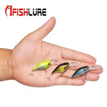 Small Crankbait 4.9g 58mm Artificial Hard Lure Plastic Baits Lure Fishing Isca Artificial Wobblers Pesca