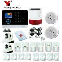 Yobang Security Wifi GSM GPRS Home Burglar Alarm Security System Intruder Alarm System With Solar Power