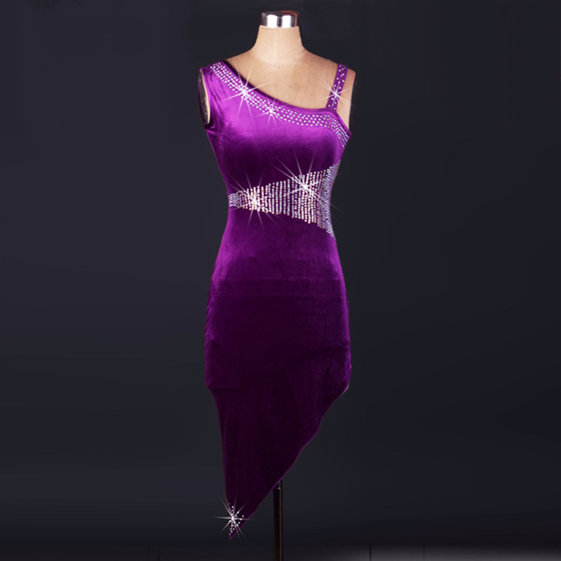 2018 robe à franges de danse latine robe Salsa pour femmes robes de salon Sexy enfants Costumes de danse indienne filles vêtements de danse
