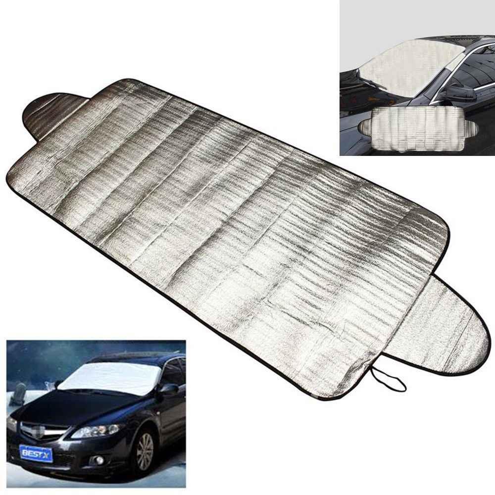1 قطعة غطاء الزجاج الأمامي مكافحة الظل الصقيع الجليد الثلوج حامي UV سيارة الخارجي حماية الحرارة ظلة السيارات المنتج اكسسوارات السيارات