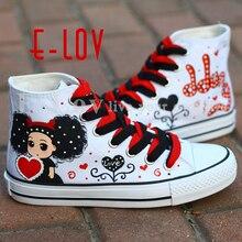 Girl Sneakers 2021 Graffiti Design Shoes
