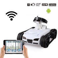 Happycow RC Cars Tank 777 270 WiFi Tank Car Toy With Camera Remote Control Video IOS Phone Or Android Gifts Remote Control Toy
