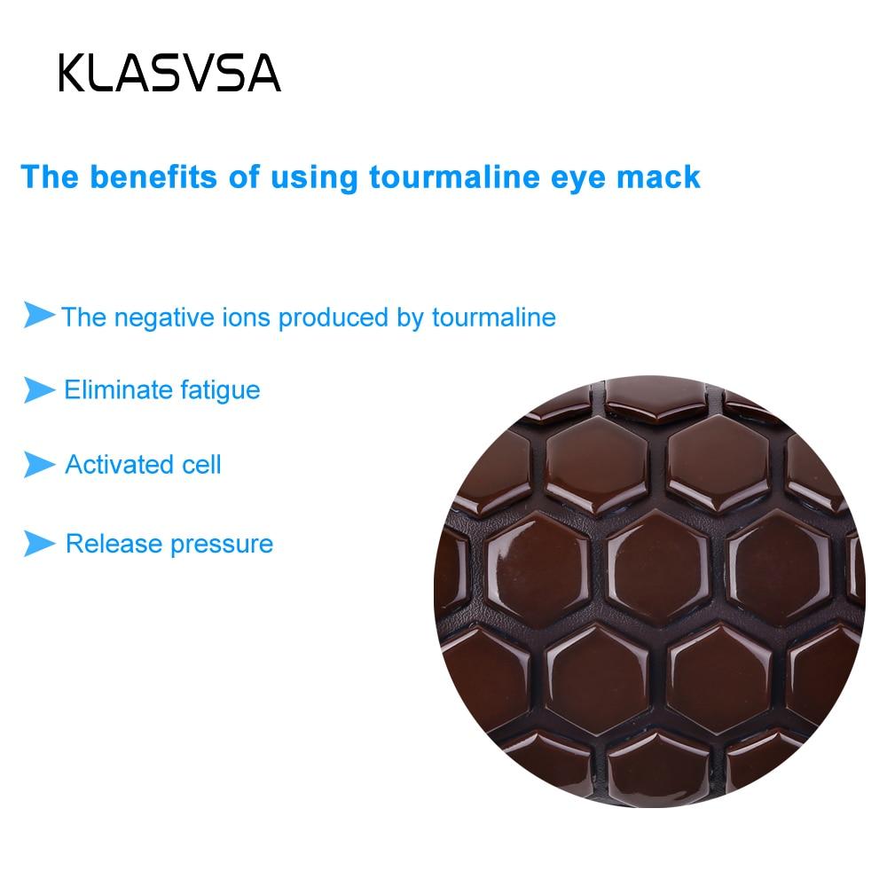 KLASVSA Tourmaline Therapy Sova ansikte ögonmaske Anti Stress Facial - Sjukvård - Foto 2