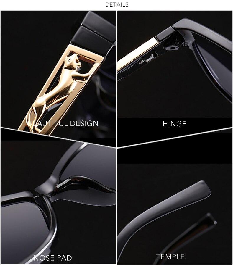 7030f0d4796b ROYAL GIRL Vintage Cat Eye Sunglasses Women 2018 Brand Designer Modern Sun  Glasses Female Black Red Frame Oculos UV400 ss623