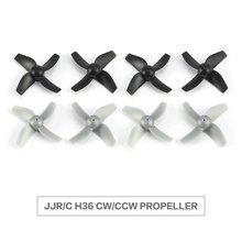 8pcs Original CW/CCW Propeller for JJR/C H36 Drone RC Mini Quadcopter Spare Parts