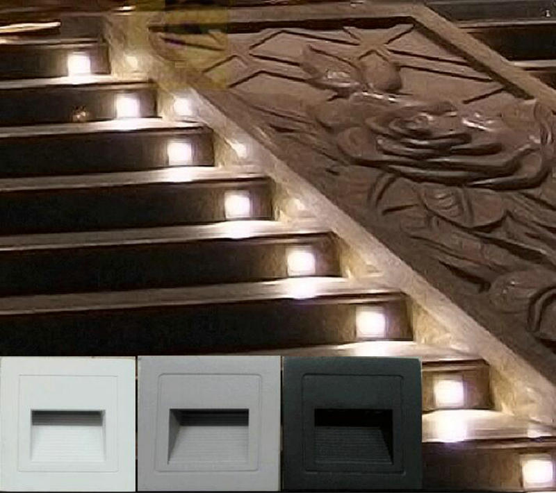 Outdoor Lights For Steps Free shipping 3w led footlights embedded corner lamp led outdoor free shipping 3w led footlights embedded corner lamp led outdoor lights led step light steps ip67 waterproof 16pcslot in led underground lamps from lights workwithnaturefo