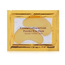 Eye Mask Natural Gold Crystal Collagen Masks Anti Aging/Dark Circles/Puffiness Moisturizing Colageno Gel Pads