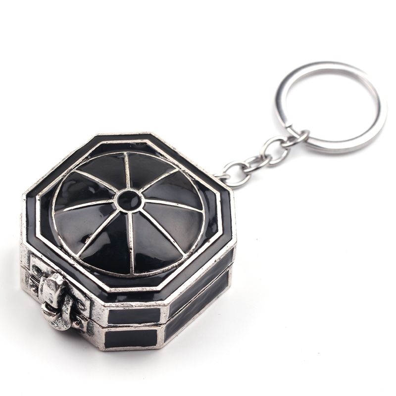 Pirates of the Caribbean Compass Keychain Dead Men Tell No Tales Salazar's Revenge Jack Sparrow's Compass Keychains For Men Fans