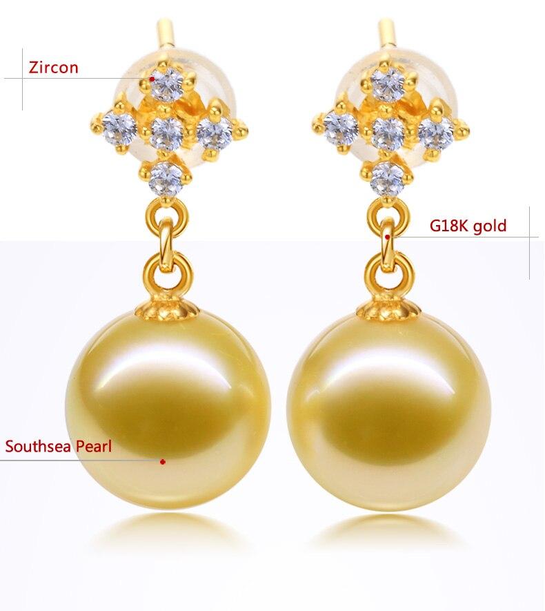 gold pearl earrings jewelry 66