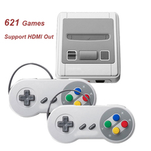 Mini Help HDMI Out Video Sport Console Constructed-in 621 Retro Video games Deal with Sport Participant Double Handheld TV Sport Console Greatest Present