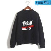Friday The 13Th Sweatshirt The Game Horror Mask Killer Puzzle Pullover Jacket Oversized Game Clothes O-Neck Women Hoodies 3D