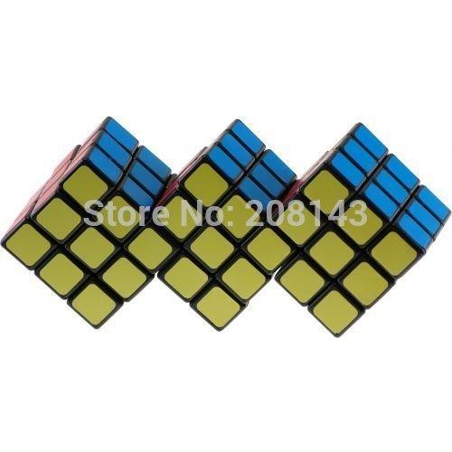 CT Cubo Giro Triple 3x3 Plástico Cubo Mágico Negro Colección Perfecta para Speedcubers y Educación Puzzle Toy