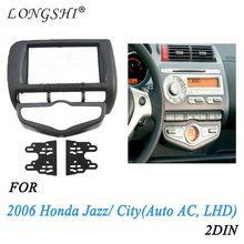 Car refitting dvd frame/dvd panel/audio frame for 2006 Honda Jazz (Europe, Aircon auto, right ), 2DIN