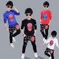 Детский набор весна осень Человек-Паук спортивный свитер подросток мальчики одежда дети мальчики suitschild наборы 4-12Y
