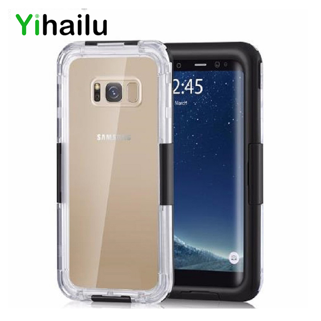 separation shoes c6195 bfe49 US $12.39  Waterproof Case For Samsung Galaxy S8 Plus Hybrid Swimming Dive  Water Shock Proof Cover Outdoor Phone Case For Samsung S8 S8+-in Fitted ...
