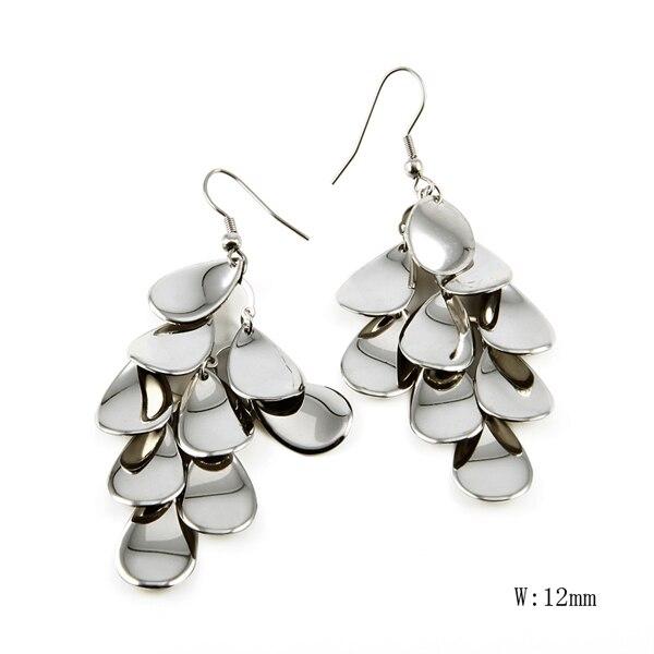 CH 184 Fashion Round Shape Vintage Earrings for Man Trendy Party Black Earrings Jewelry Men Women